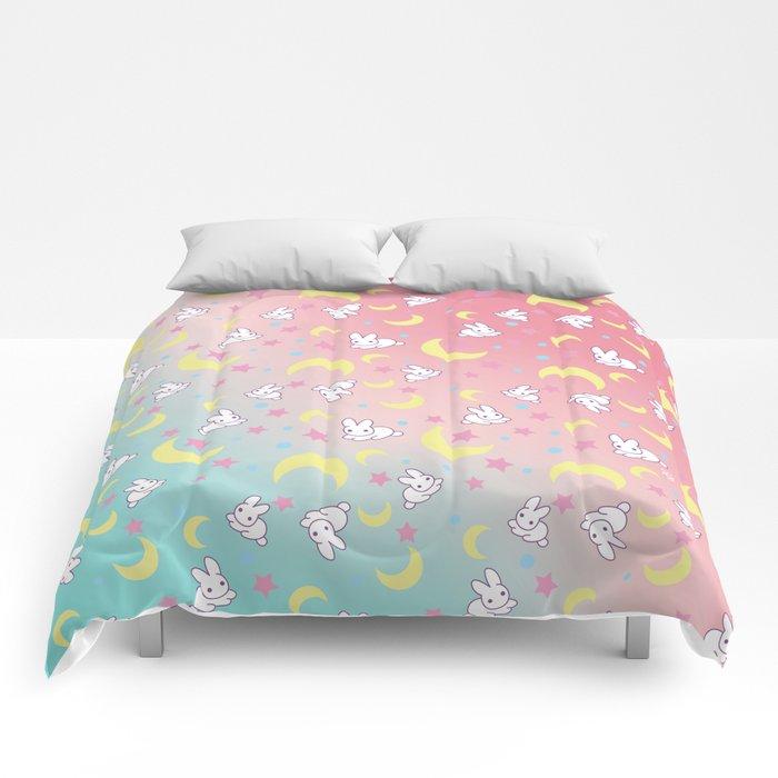 Sailor Moon Bunny's Pattern Comforters