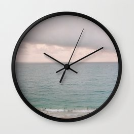 San Juan Beach Scene 1 Wall Clock