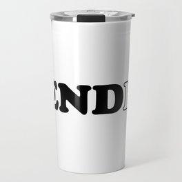 End Gender Travel Mug