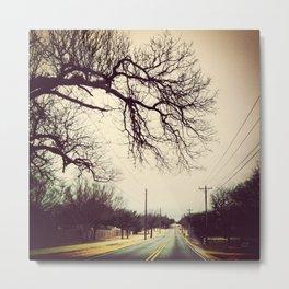 Moody Road Metal Print