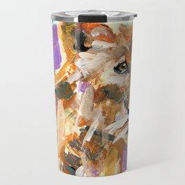 Fierce Feline Travel Mug