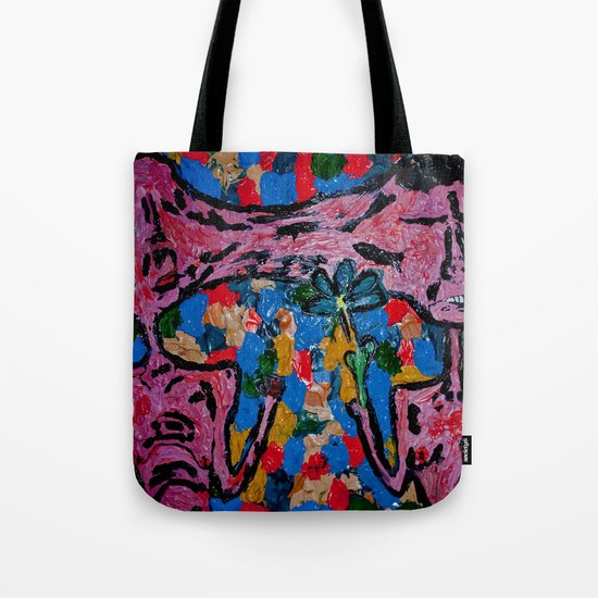 fist or flower Tote Bag