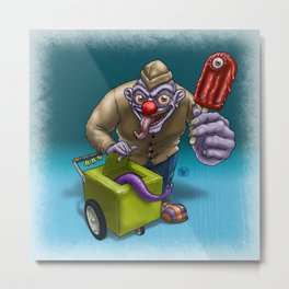 That weird guy by the corner... Metal Print