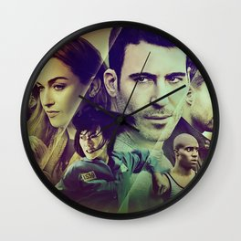 Sense8 Collage Poster Wall Clock