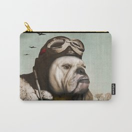 "Wing Commander, Benton ""Bulldog"" Bailey of the RAF Carry-All Pouch"