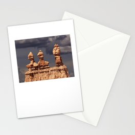Three Sisters at sunset. Stationery Cards