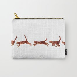 Low Poly Tabby cat Carry-All Pouch