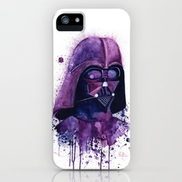 I find your lack of face disturbing iPhone Case