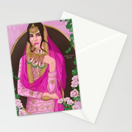 Dressed Like a Treasure Chest ( desi ) Stationery Cards