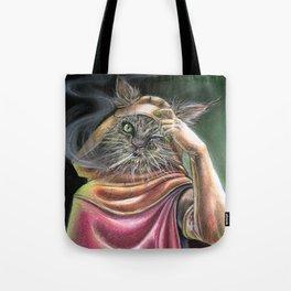 Vagabond Cat Tote Bag