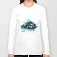 truck Long Sleeve T-shirts featuring Truck by Svetlana Sewell