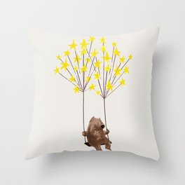 Stars Swing Throw Pillow