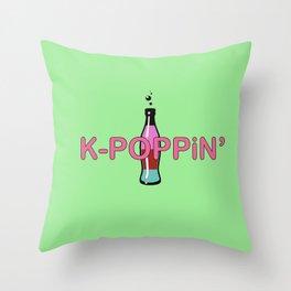 K-Poppin' Throw Pillow