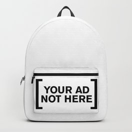 [Your Ad Not Here] Backpack