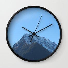Maunga 3 Wall Clock