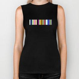 Say It With Stripes - Colourful, stripy pattern Biker Tank