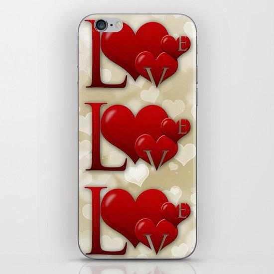 Love! Love! Love!  iPhone Skin