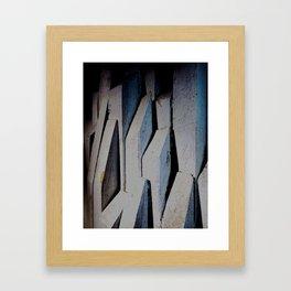 """Melodramatic Heights"" Framed Art Print"