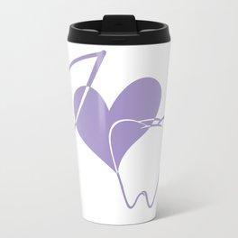 I (heart) Tooth Travel Mug