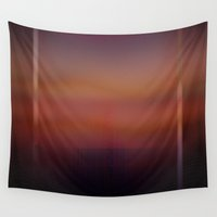 glitch Wall Tapestries featuring Glitch by Erica Chase