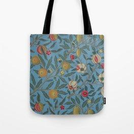 William Morris Fruit and Pomegranate Vintage Print Tote Bag