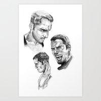 study Art Prints featuring Study by Vito Fabrizio Brugnola