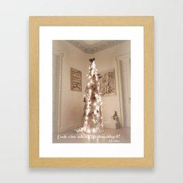 Merry Christmas  at all Framed Art Print