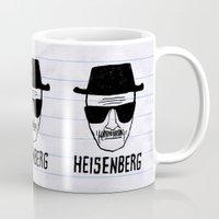 heisenberg Mugs featuring HeisenBerg by IIIIHiveIIII