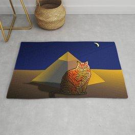 Pyramid Tiger Cat. Rug