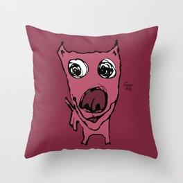 Heartey - berry Throw Pillow