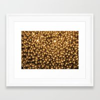 chandelier Framed Art Prints featuring Chandelier  by Emily Joie de Vivre