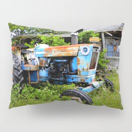 Vintage Tractor  Pillow Sham