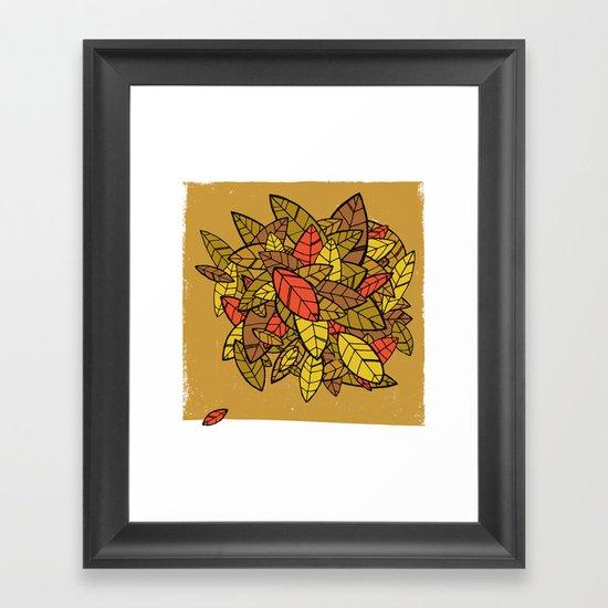 Autumn Memories Framed Art Print