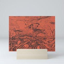 La Guerre (The War) (1895) by Henri Rousseau. Mini Art Print