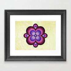 Flower pattern 03 Framed Art Print