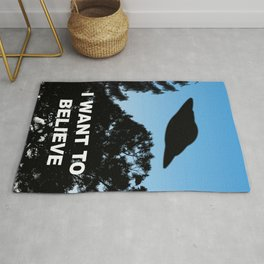 I Want to Believe Rug
