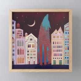 Sounds of the City Framed Mini Art Print