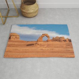 Delicate Arch 0415 - Arches National Park, Moab, Utah Rug