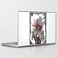 mad hatter Laptop & iPad Skins featuring Mad Hatter by Mongolizer
