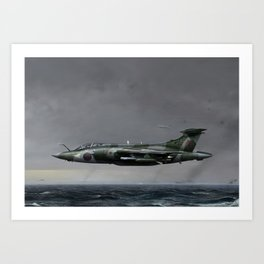 Buccaneer Bomber Art Print