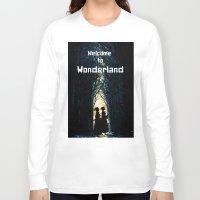 wonderland Long Sleeve T-shirts featuring Wonderland by Design4u Studio