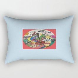 CANICA 9 Rectangular Pillow