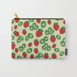 Strawberries and Kiwis Carry-All Pouch