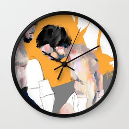 how much of me will i lose in him Wall Clock