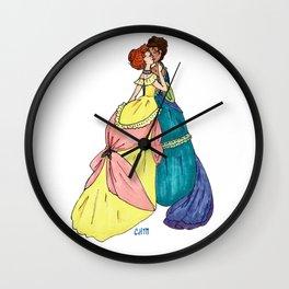 Sapphic Victoriana Wall Clock