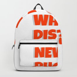 Quote: New Phone Who Dis? Backpack