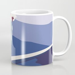 surf girl Coffee Mug