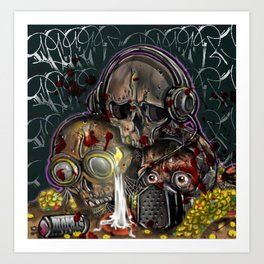 see no, hear no, speak no evil Art Print