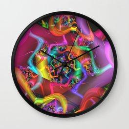 Dance 2 Abstract Fractal Art Wall Clock