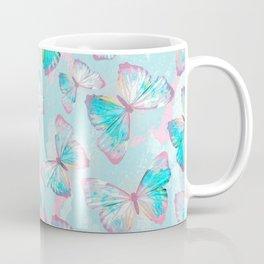 BUTTERFLIES BLUE Coffee Mug